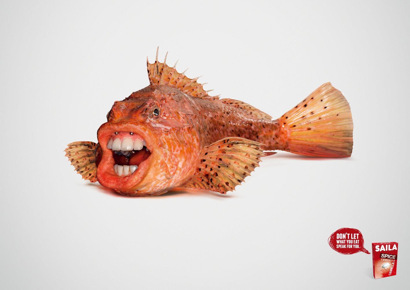 Saila Print Ad -  Breath fish
