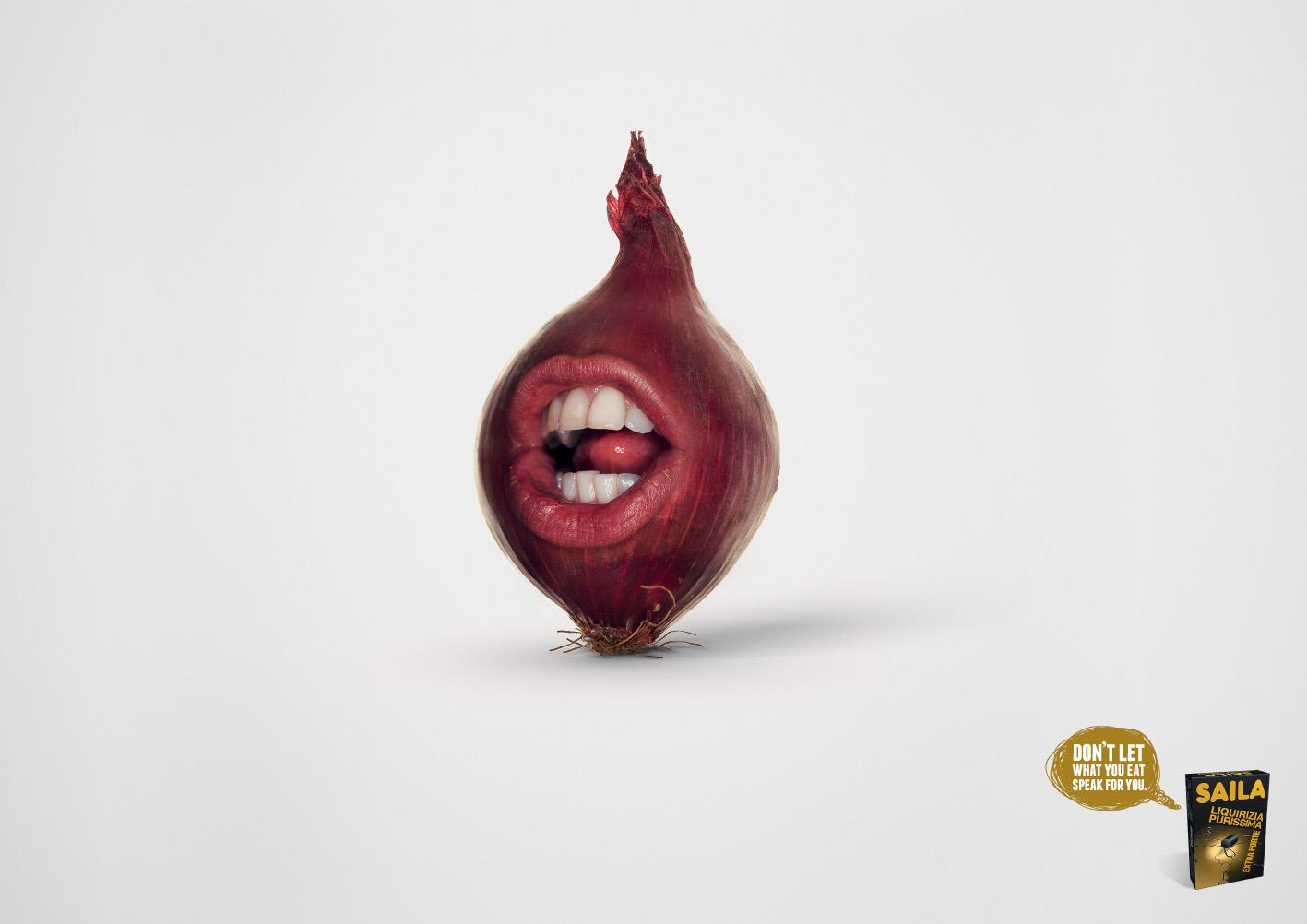 Saila Print Ad -  Breath onion