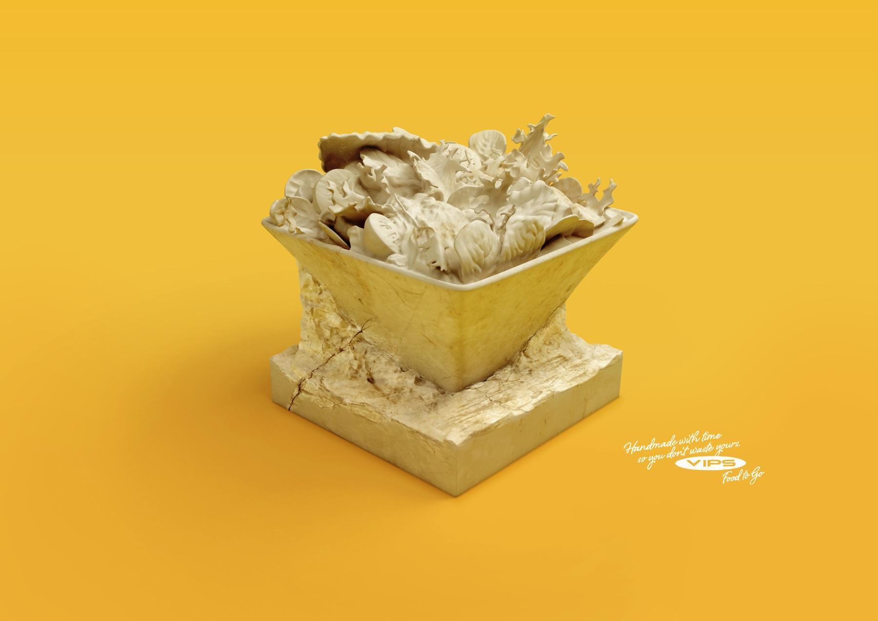 VIPS Print Ad -  Salad