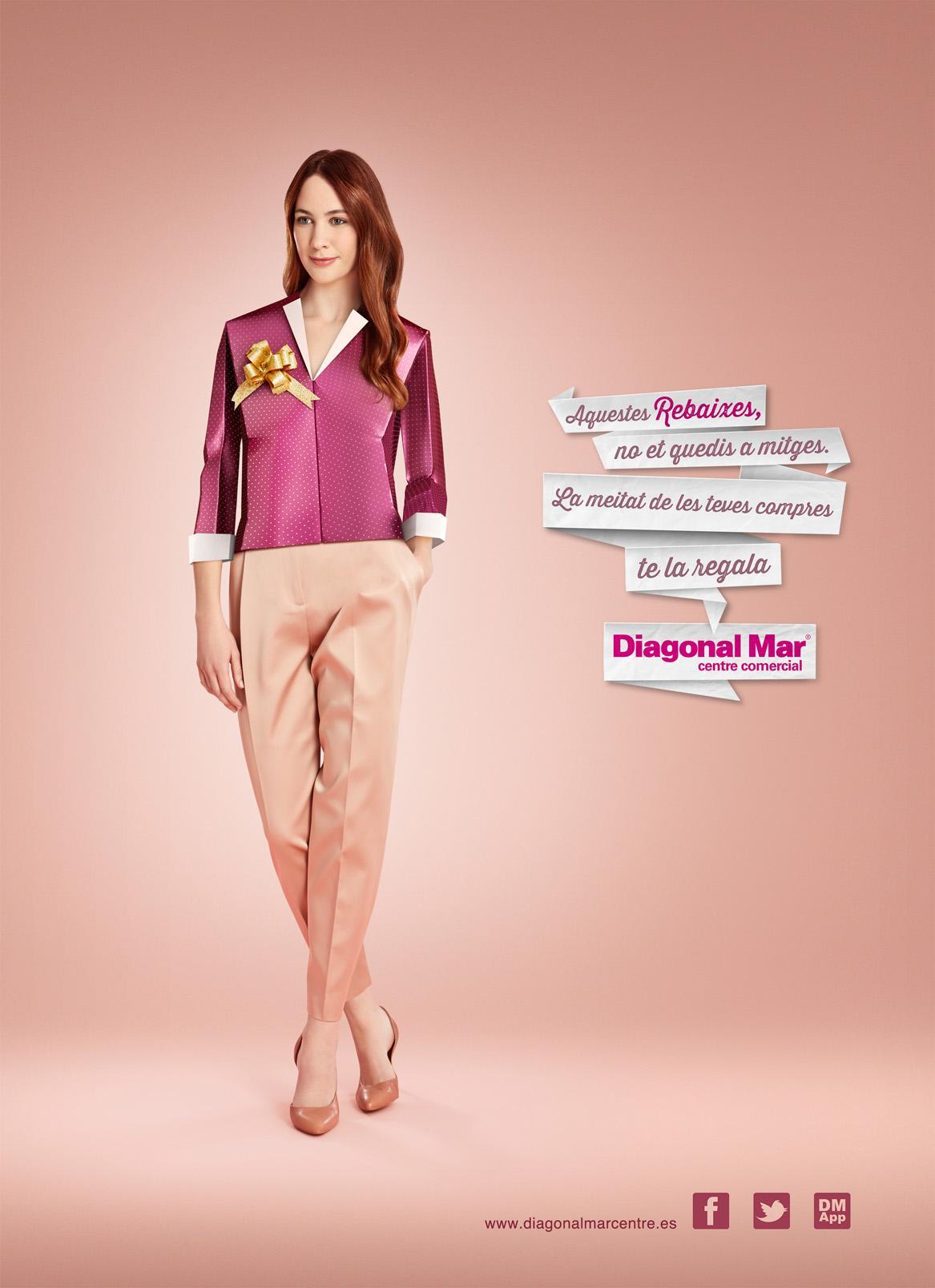 Centre Comercial Diagonal Mar Print Ad -  Sales, 2