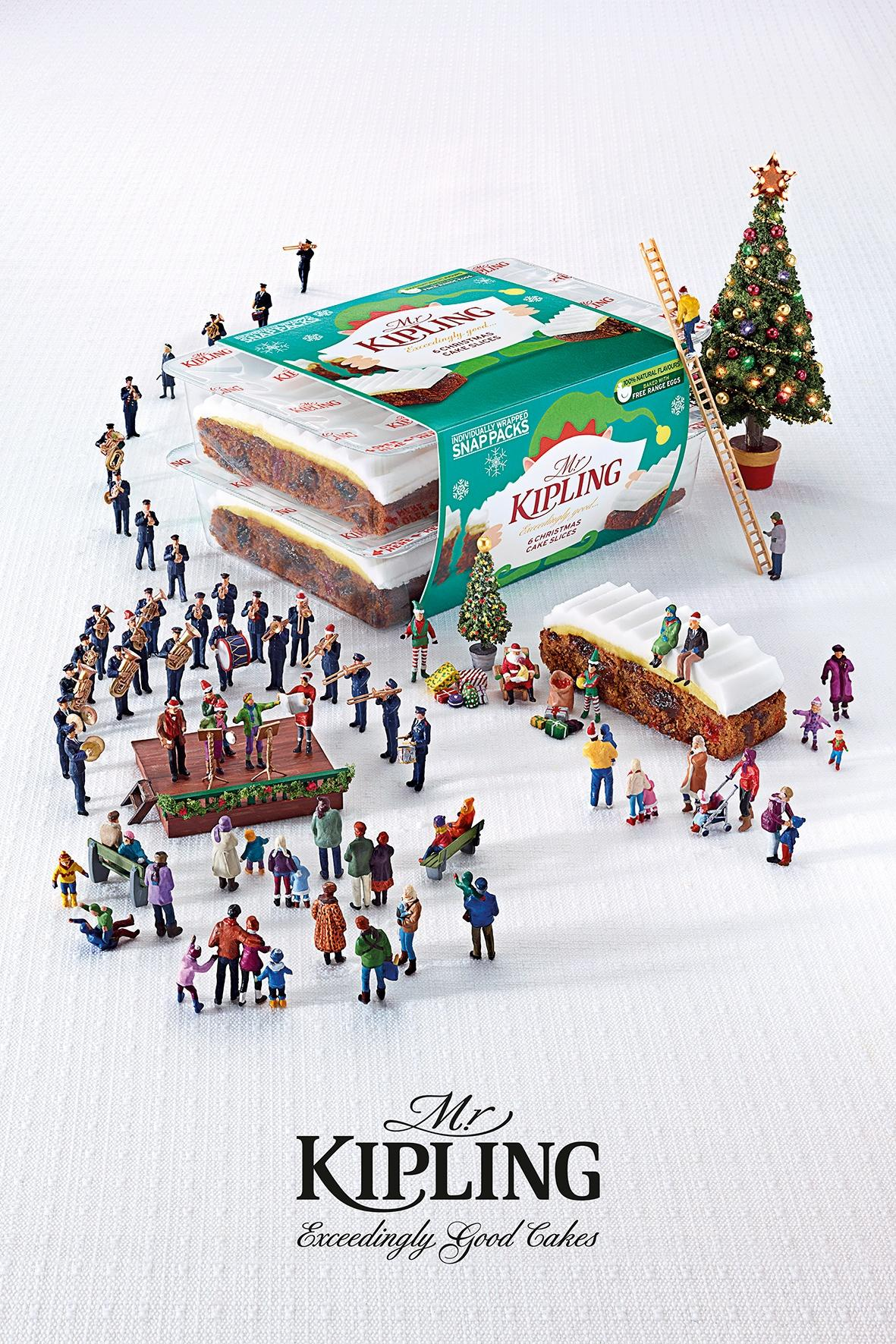 Mr Kipling Print Ad -  Salvation Army