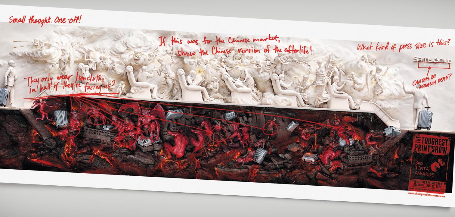 The Tinta Awards Print Ad -  Samsonite