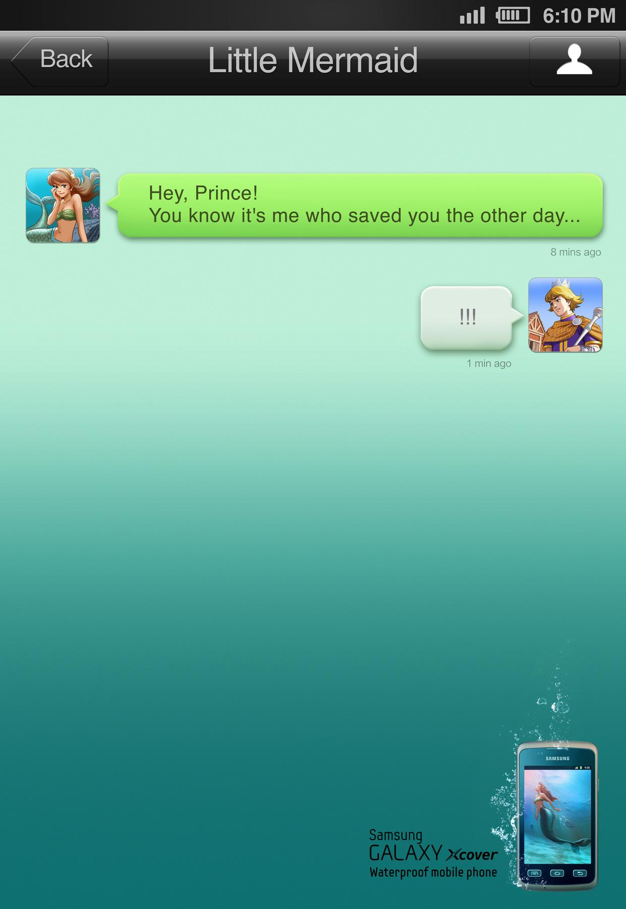 Samsung Print Ad -  Ariel