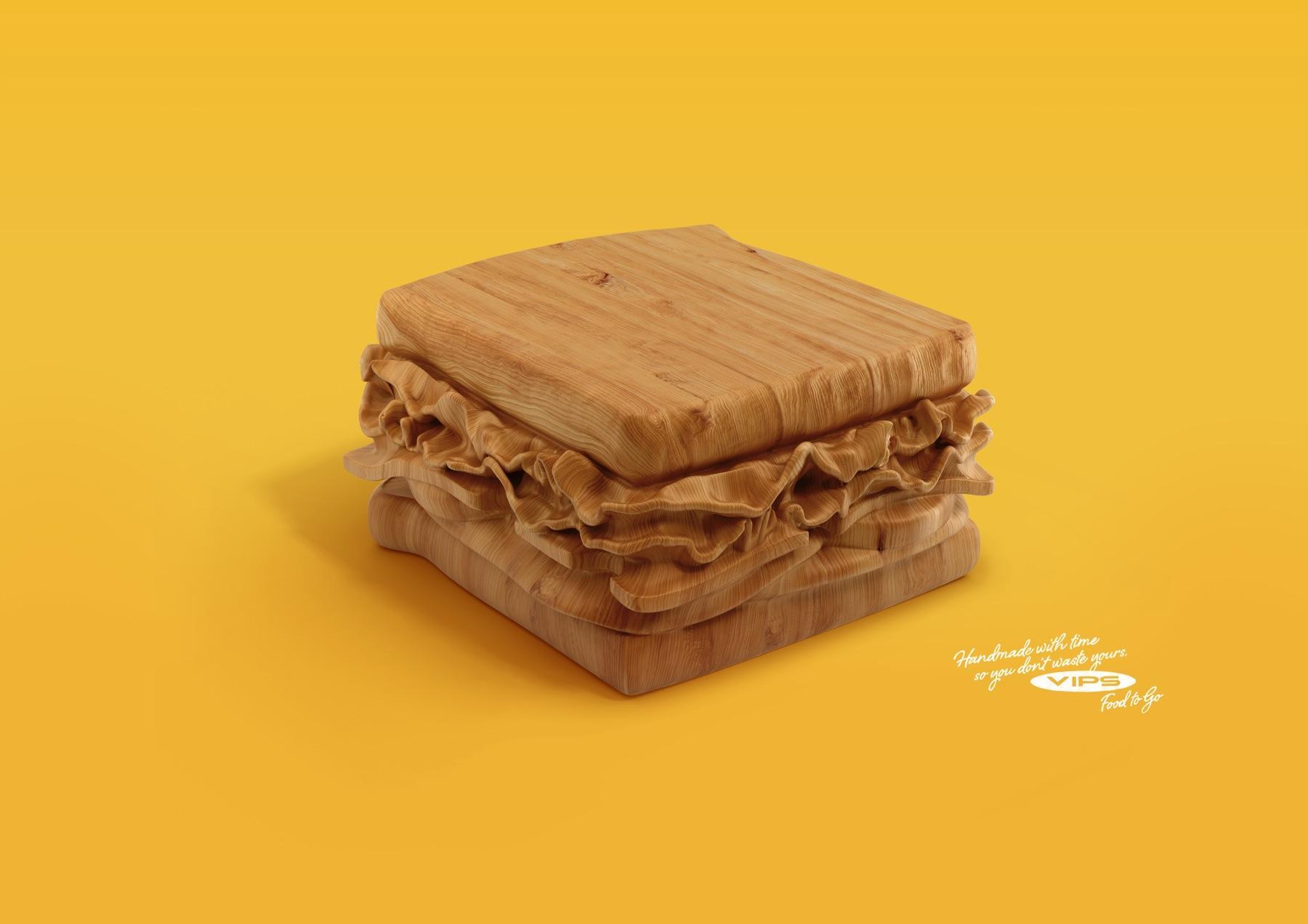 VIPS Print Ad -  Sandwich