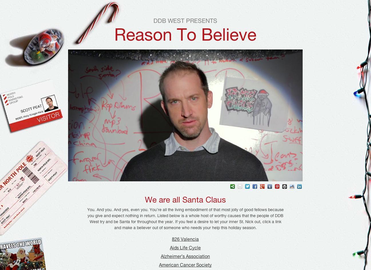 DDB Digital Ad -  Reason To Believe
