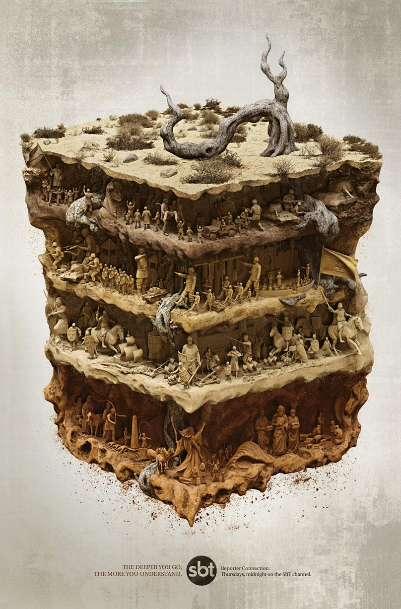 SBT Print Ad -  Layers of Earth