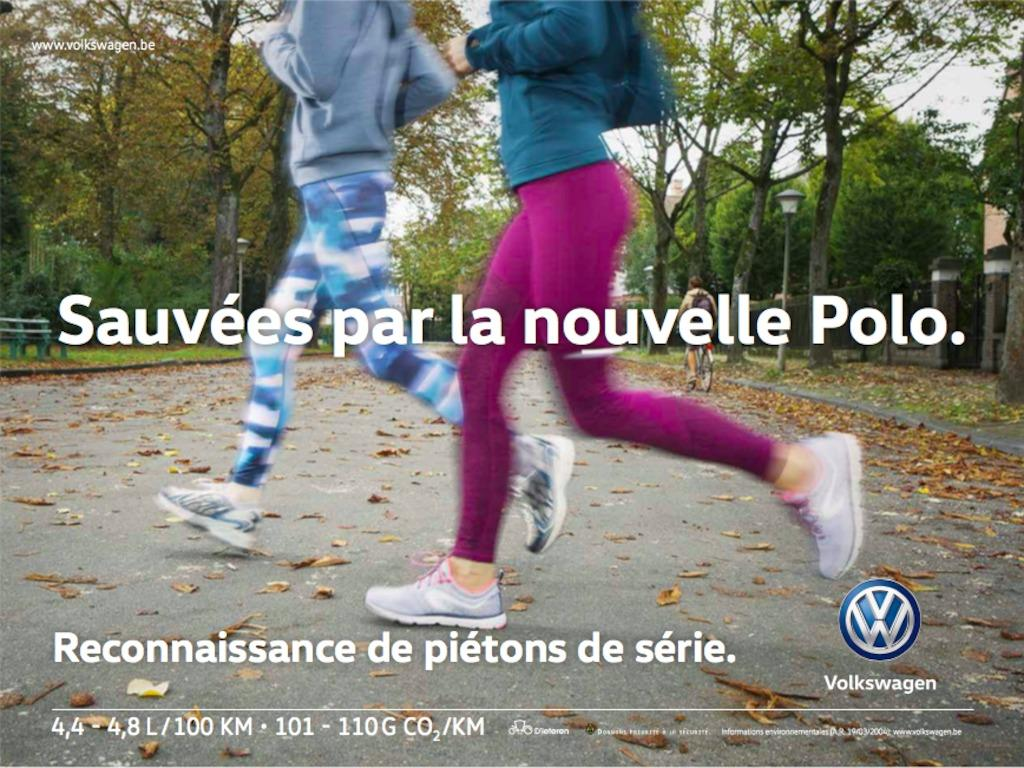 Volkswagen Outdoor Ad - The Safety Shoot