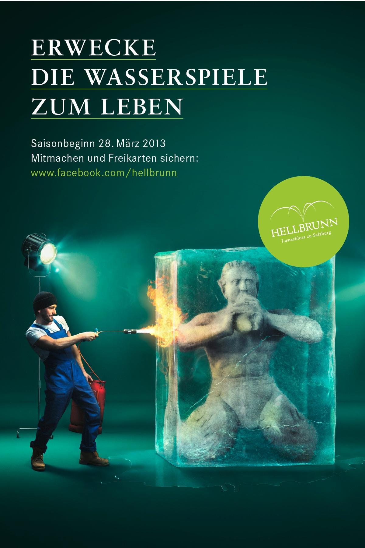 Hellbrunn Palace Outdoor Ad -  Season opening, 2