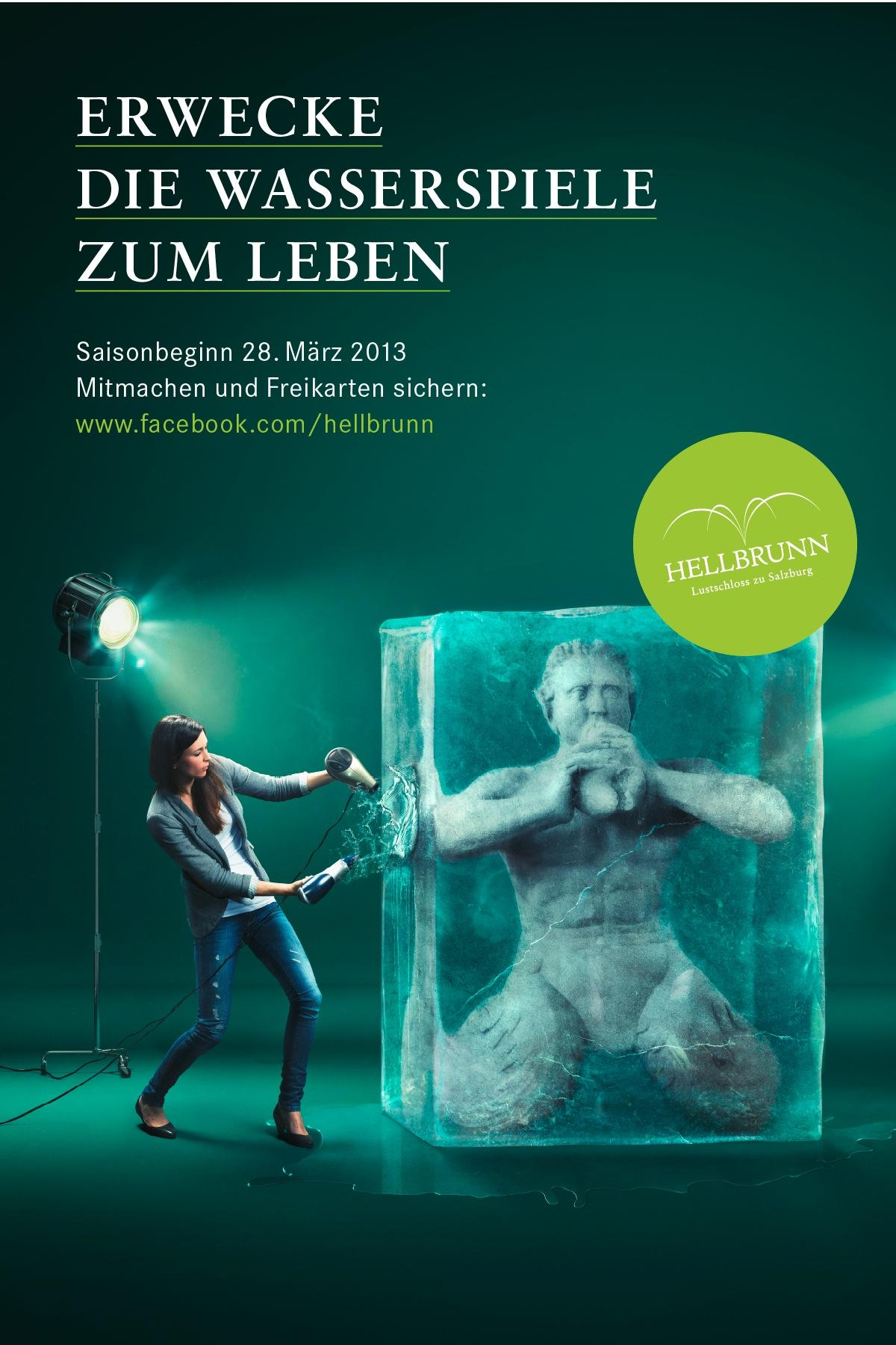 Hellbrunn Palace Outdoor Ad -  Season opening, 3