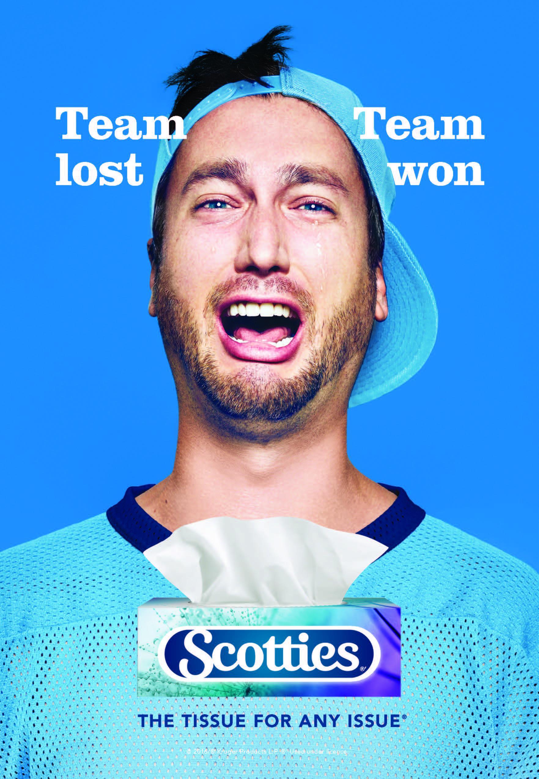 Scotties Print Ad - Team lost - team won