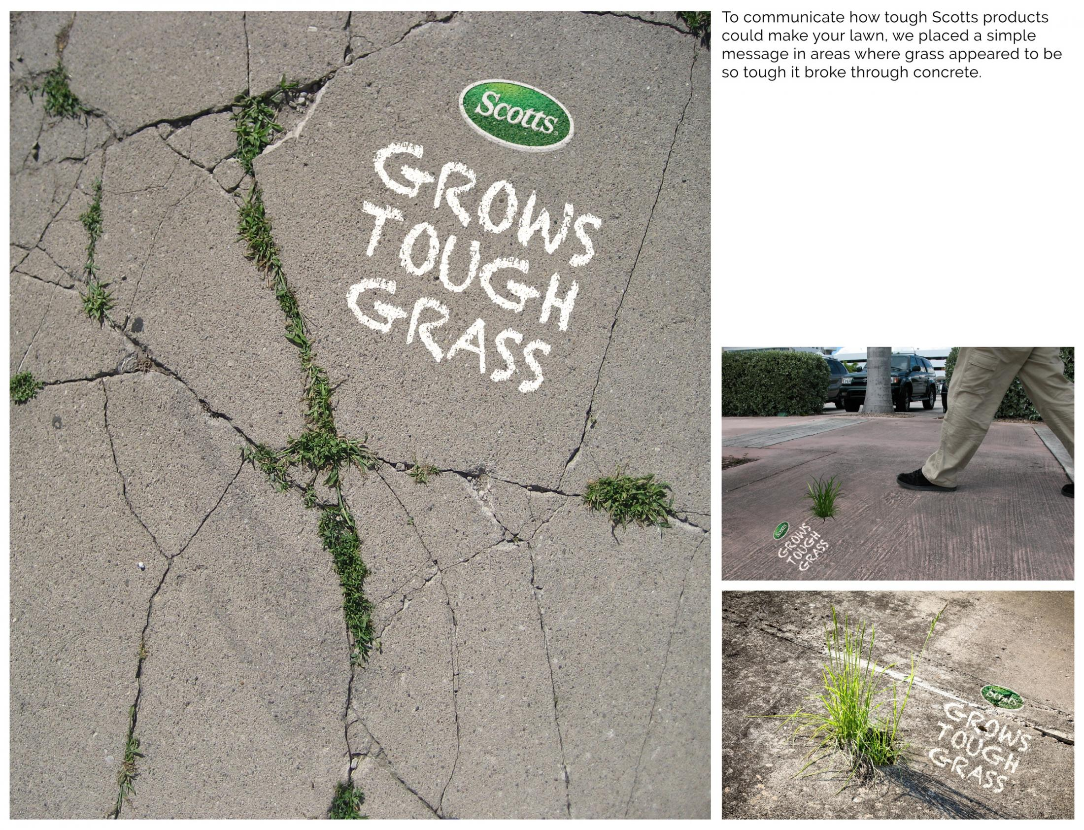 Scotts Ambient Ad - Tough Grass
