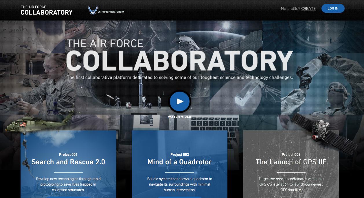 U.S. Air Force Digital Ad -  Air Force Collaboratory