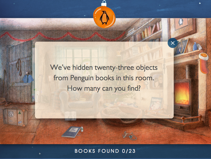 Penguin Digital Ad -  Spread the gift of stories