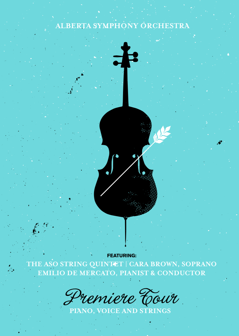 Alberta Symphony Orchestra Outdoor Ad -  A classical tour for all Albertans, 3