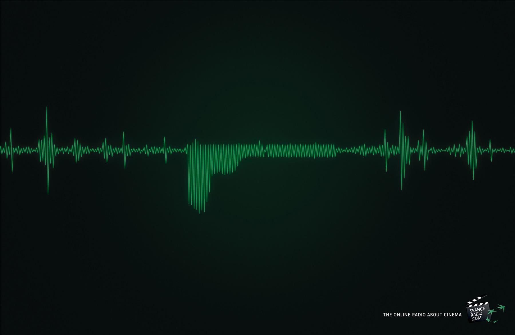 SeanceRadio.com Print Ad -  James Bond