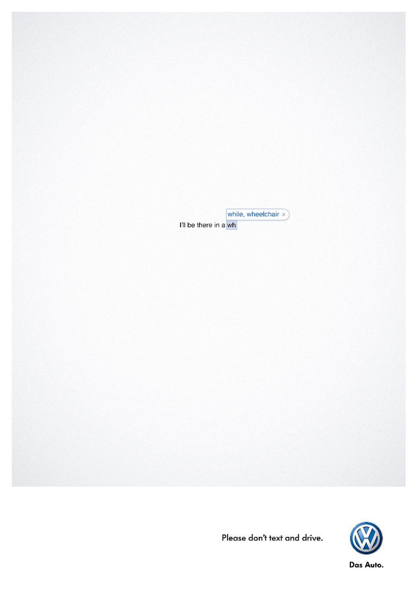 Volkswagen Outdoor Ad -  See you now