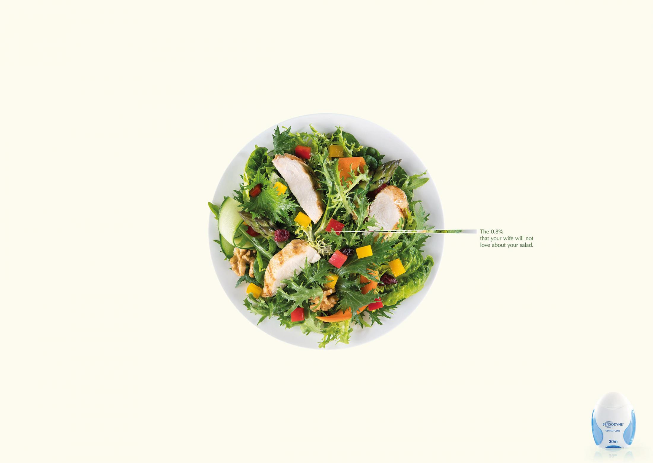 Sensodyne Print Ad - Salad