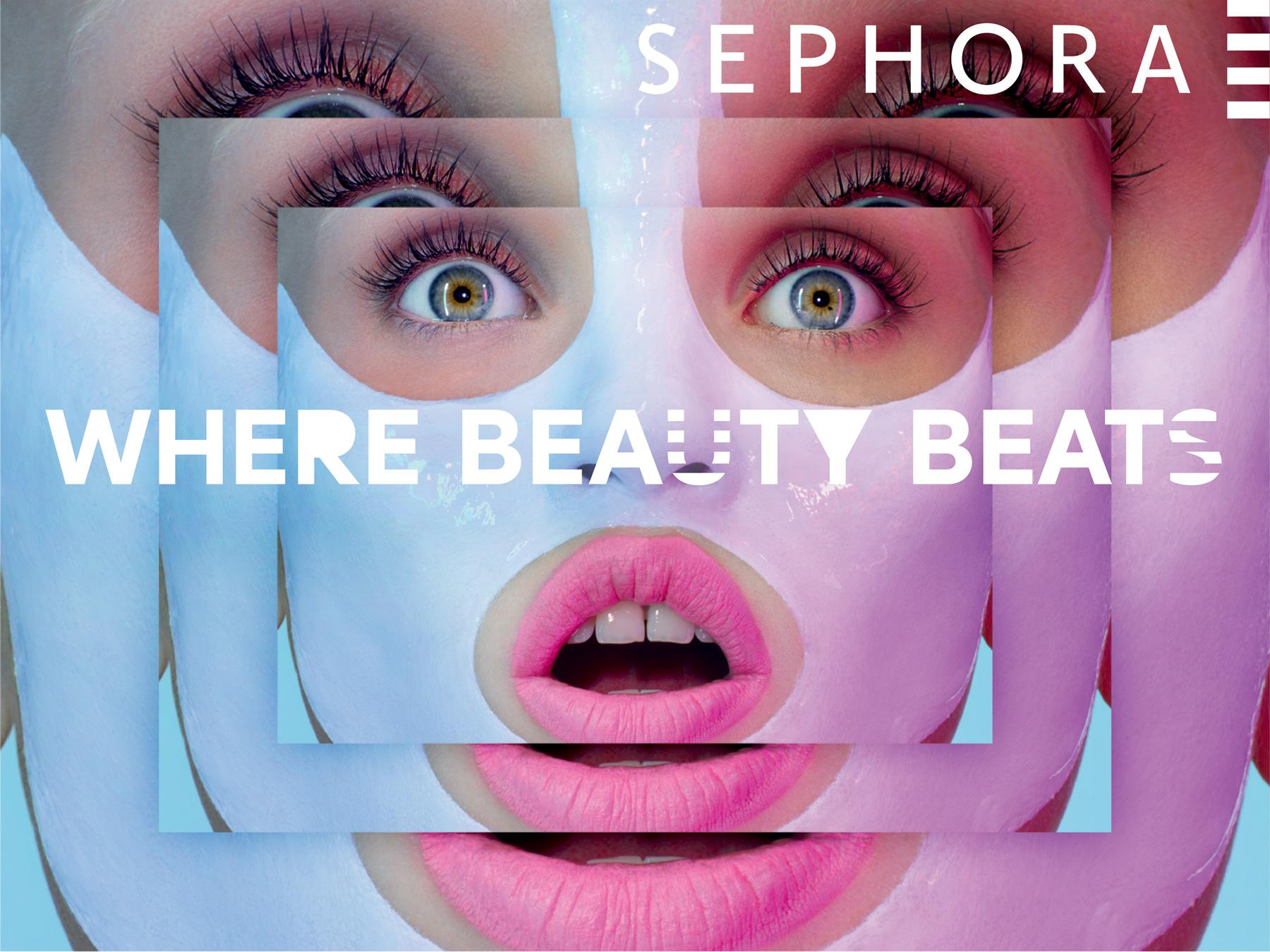 Sephora Print Ad -  Where beauty beats, 5