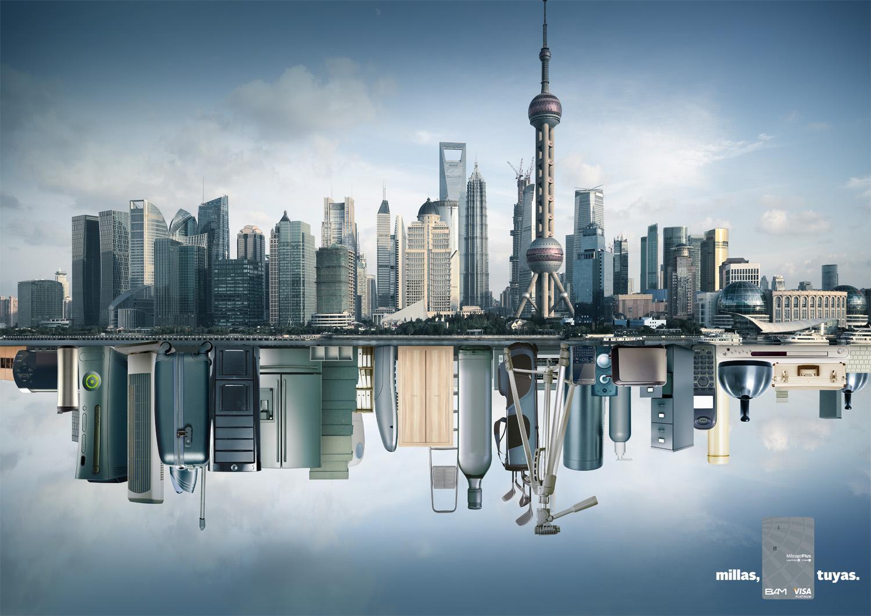 Visa Print Ad -  Shanghai