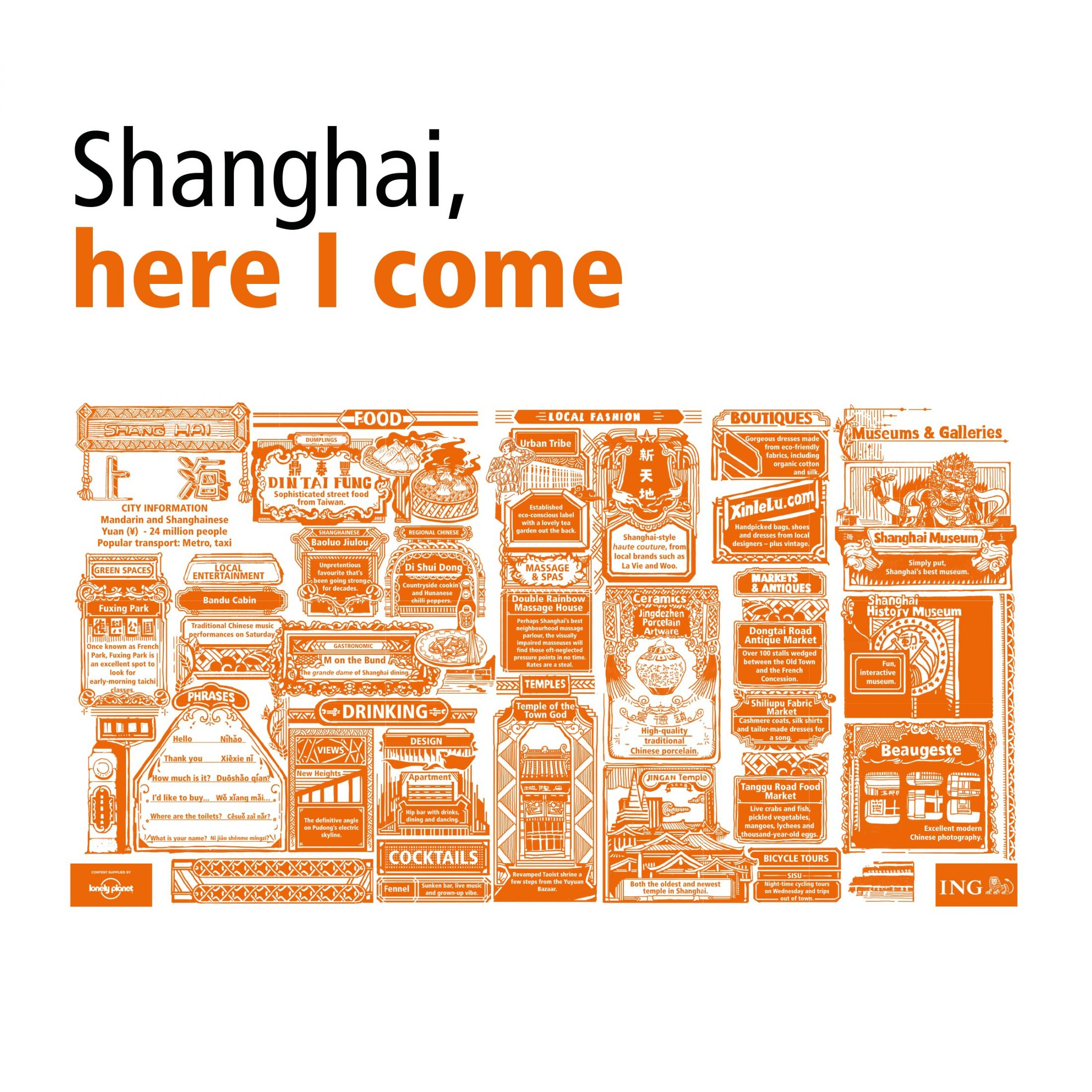 ING Outdoor Ad -  Cities in a Click - Shanghai