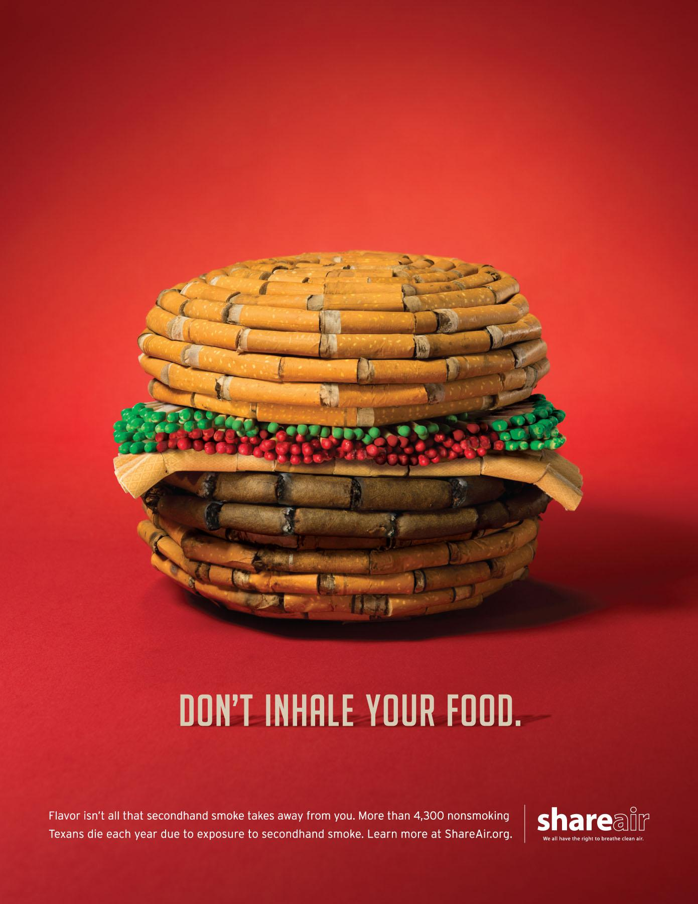 Share Air Print Ad -  Food