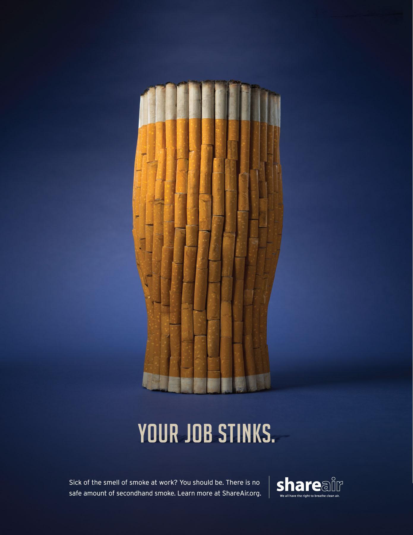 Share Air Print Ad -  Job