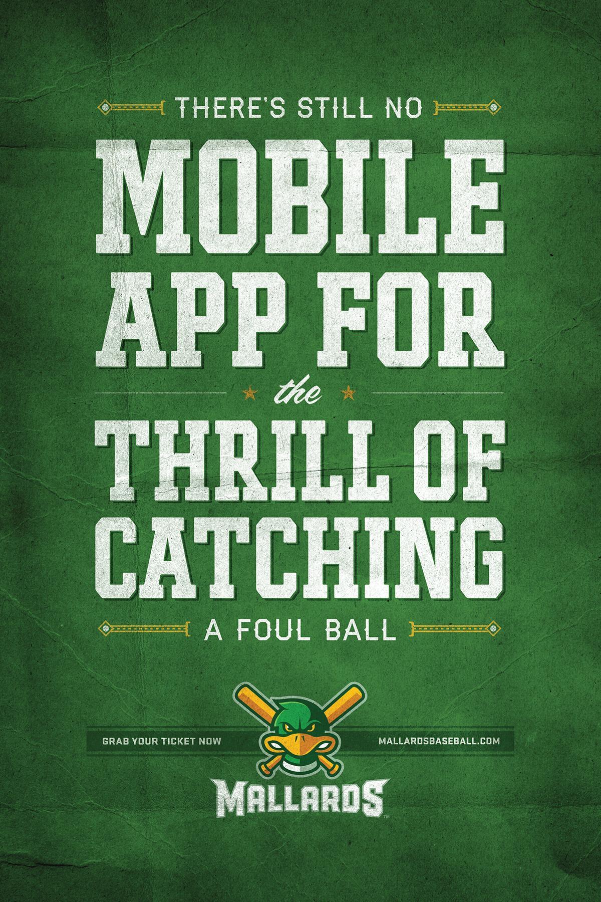 Madison Mallards Outdoor Ad -  App