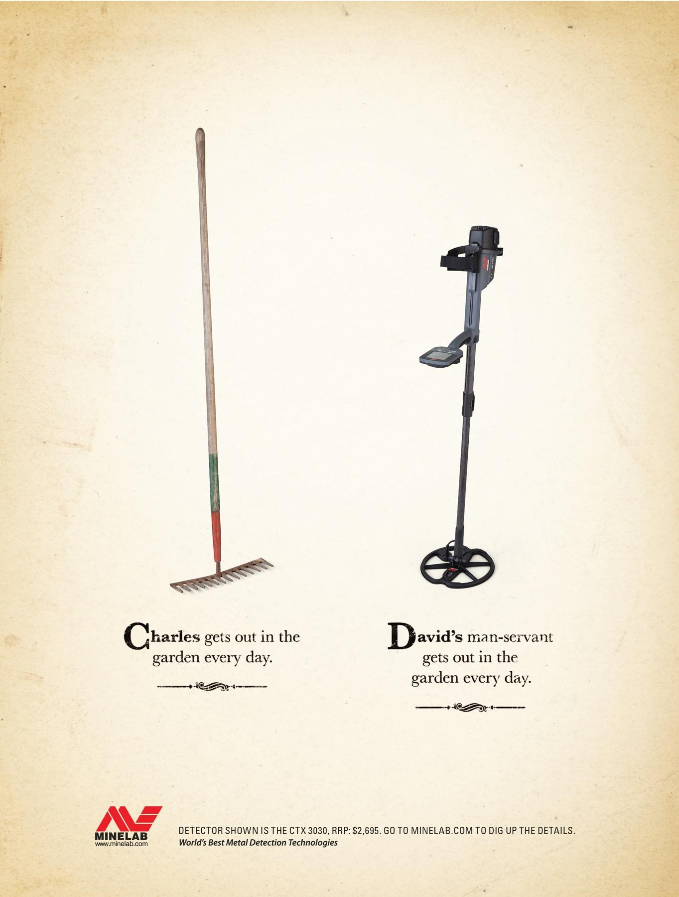 Minelab Print Ad -  Comparison, 3