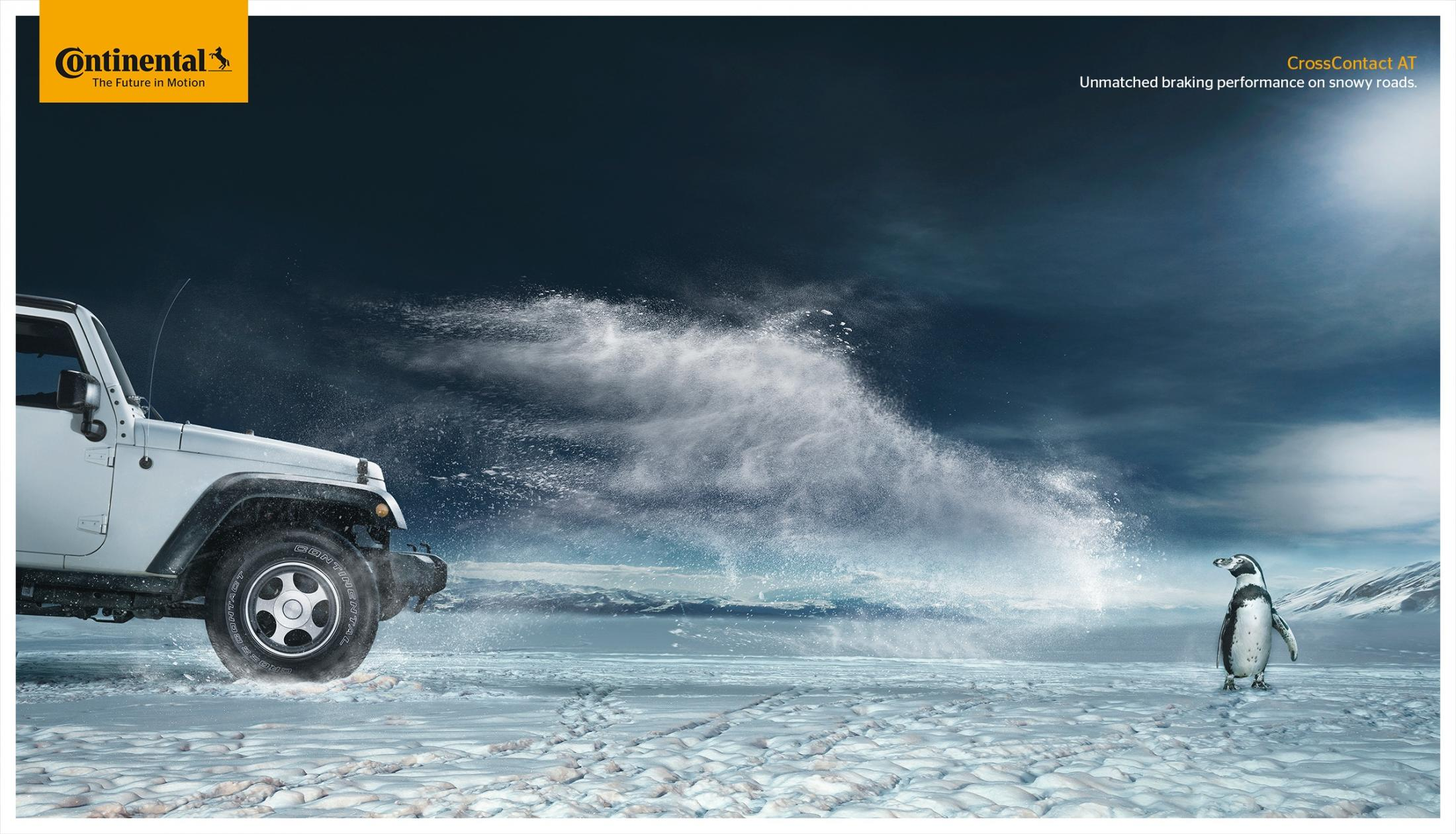 Continental Print Ad -  Snow