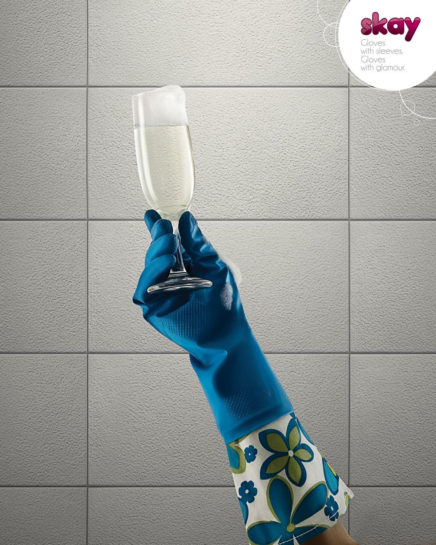 Skay Print Ad -  Glamor