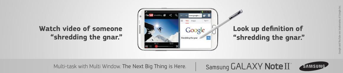 Samsung Outdoor Ad -  Gnar