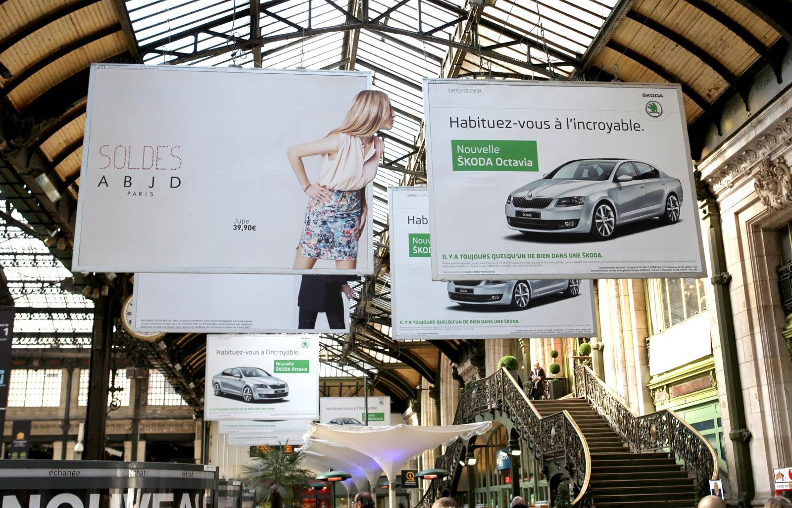 Skoda Outdoor Ad -  Attraction, 1