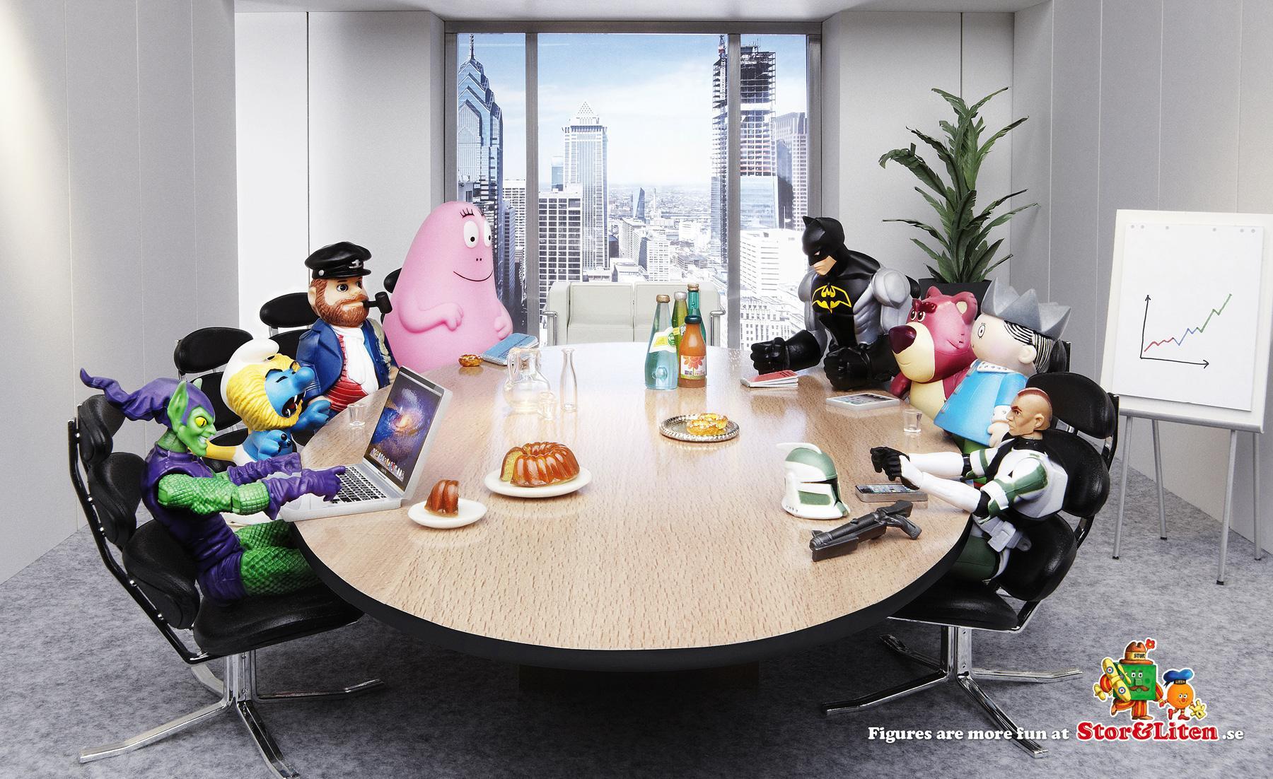 Stor&Liten Print Ad -  Fun Figures