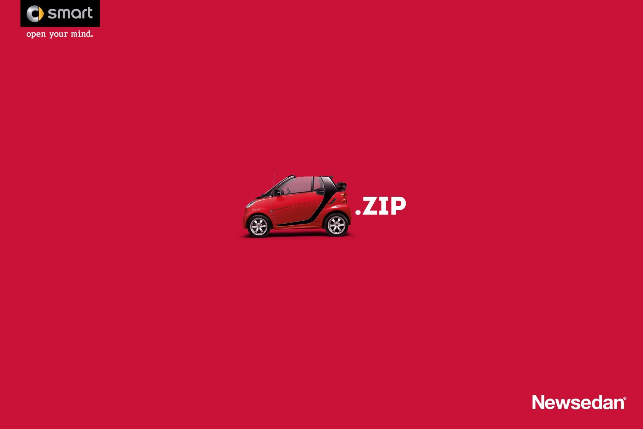 Newsedan Print Ad -  Zip