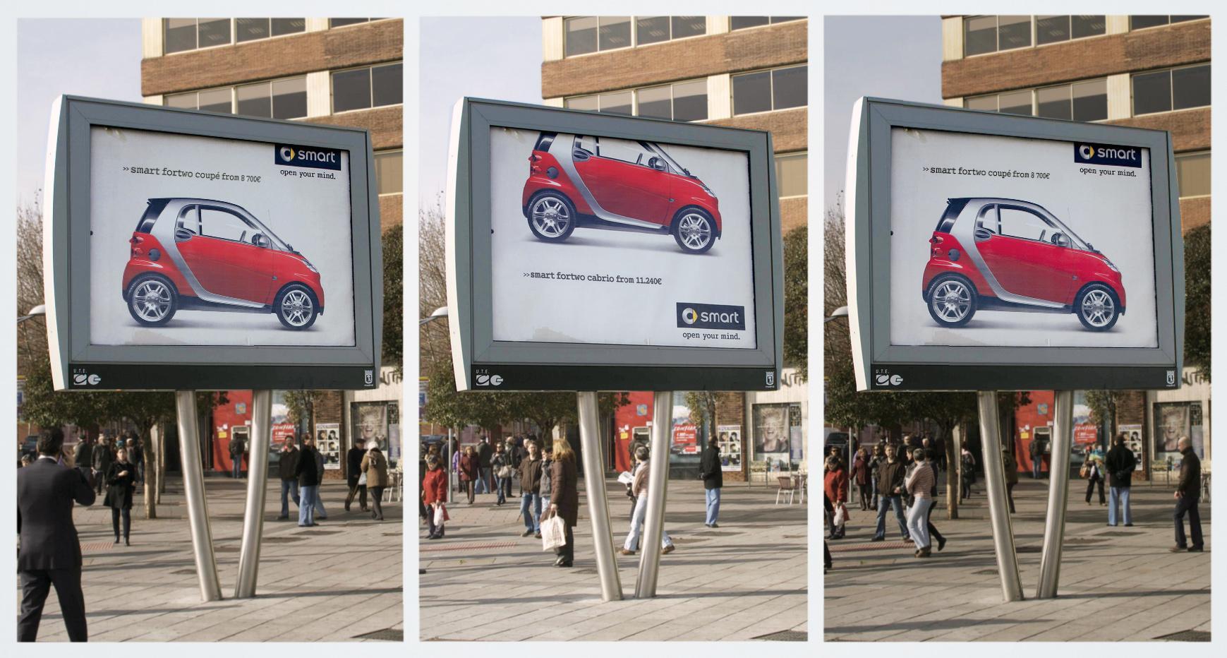 Smart Outdoor Ad -  2 in 1