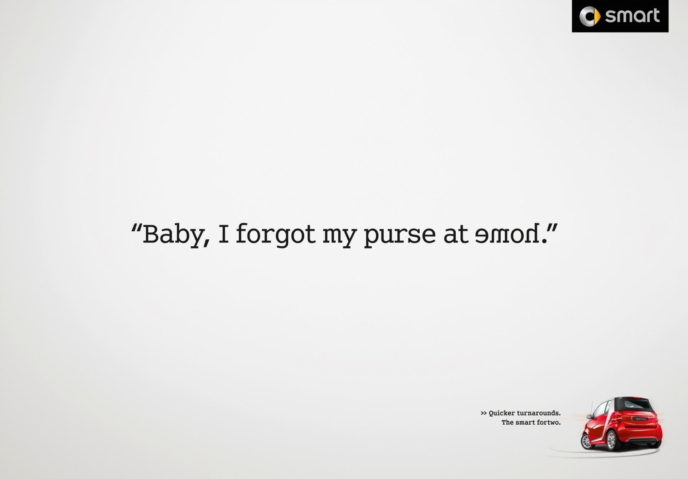 Smart Print Ad -  Purse