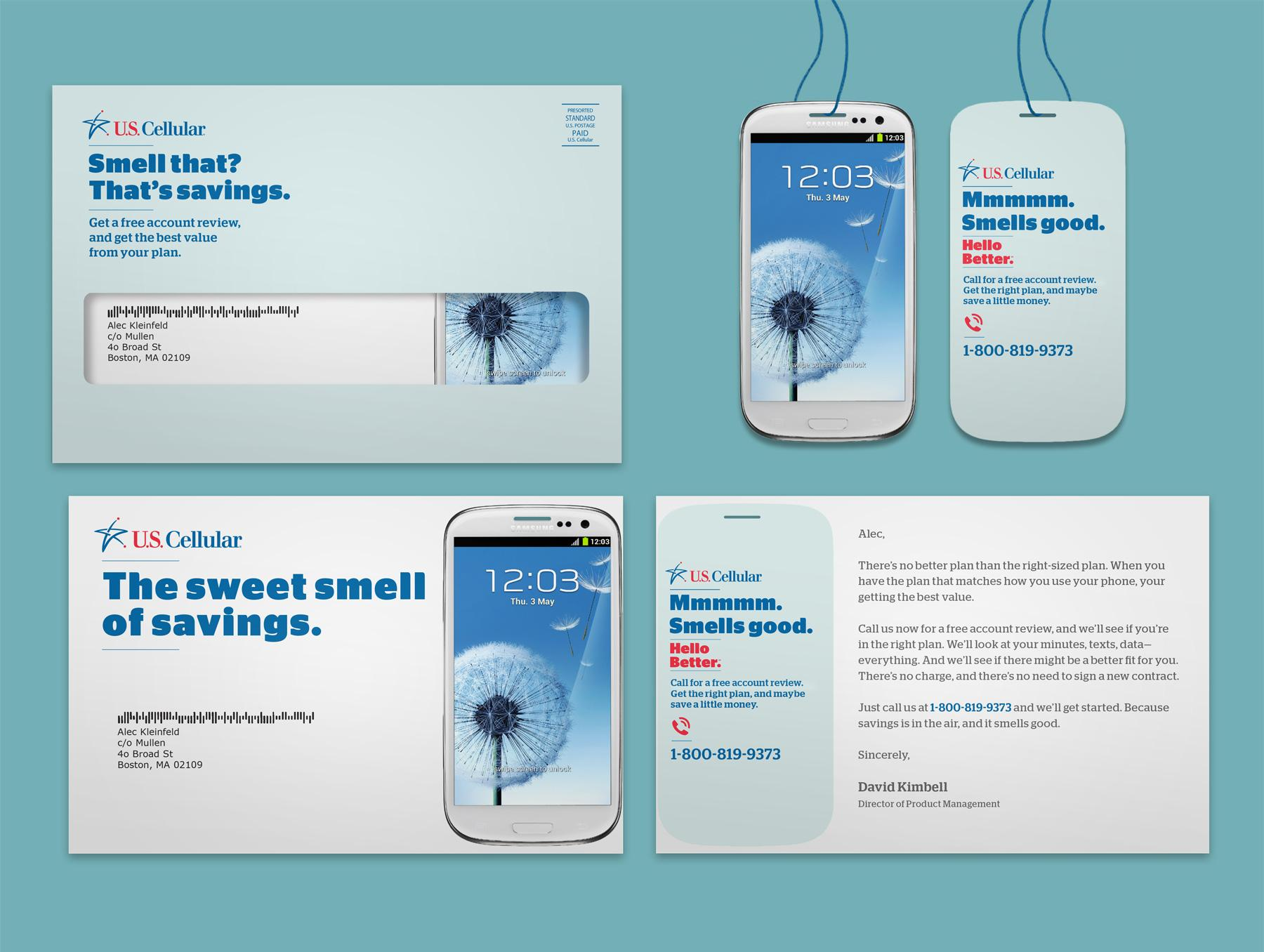 US Cellular Direct Ad -  Sweet Smell