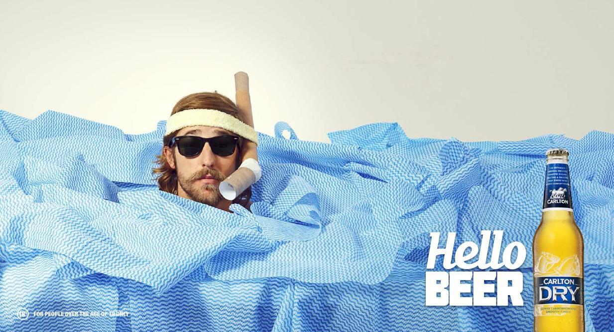 Carlton Dry Outdoor Ad -  Snorkel