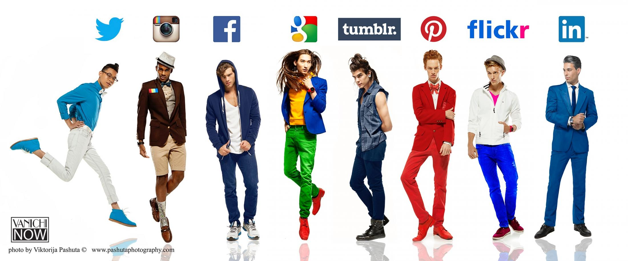 Vanichi Print Ad -  What if guys were social networks