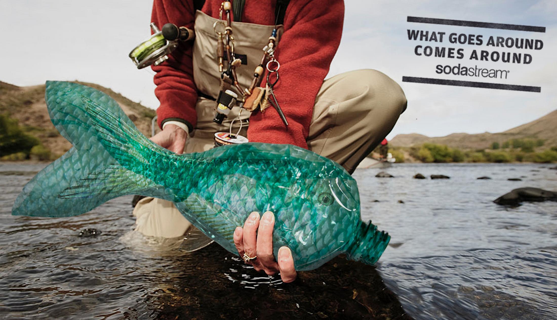 SodaStream Print Ad - Plastic Catch