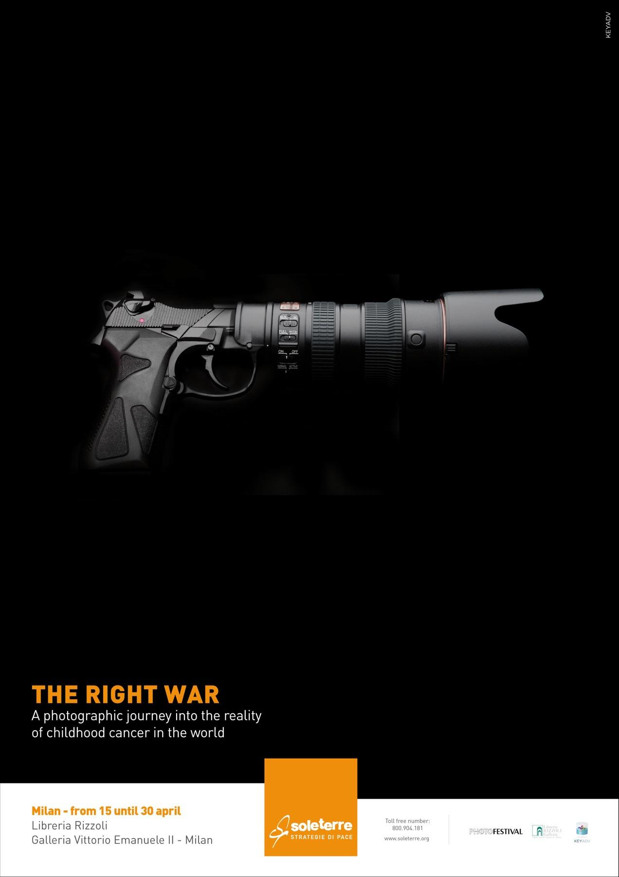 Soleterre Print Ad -  The Right War