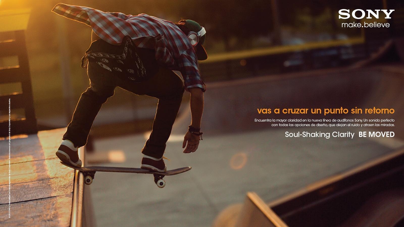 Sony Print Ad -  Skateboard