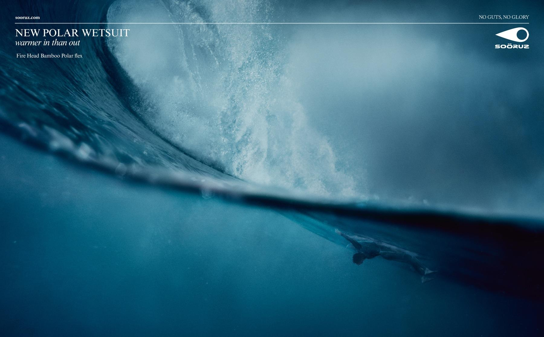Sooruz Print Ad -  Polar Wetsuit, 2