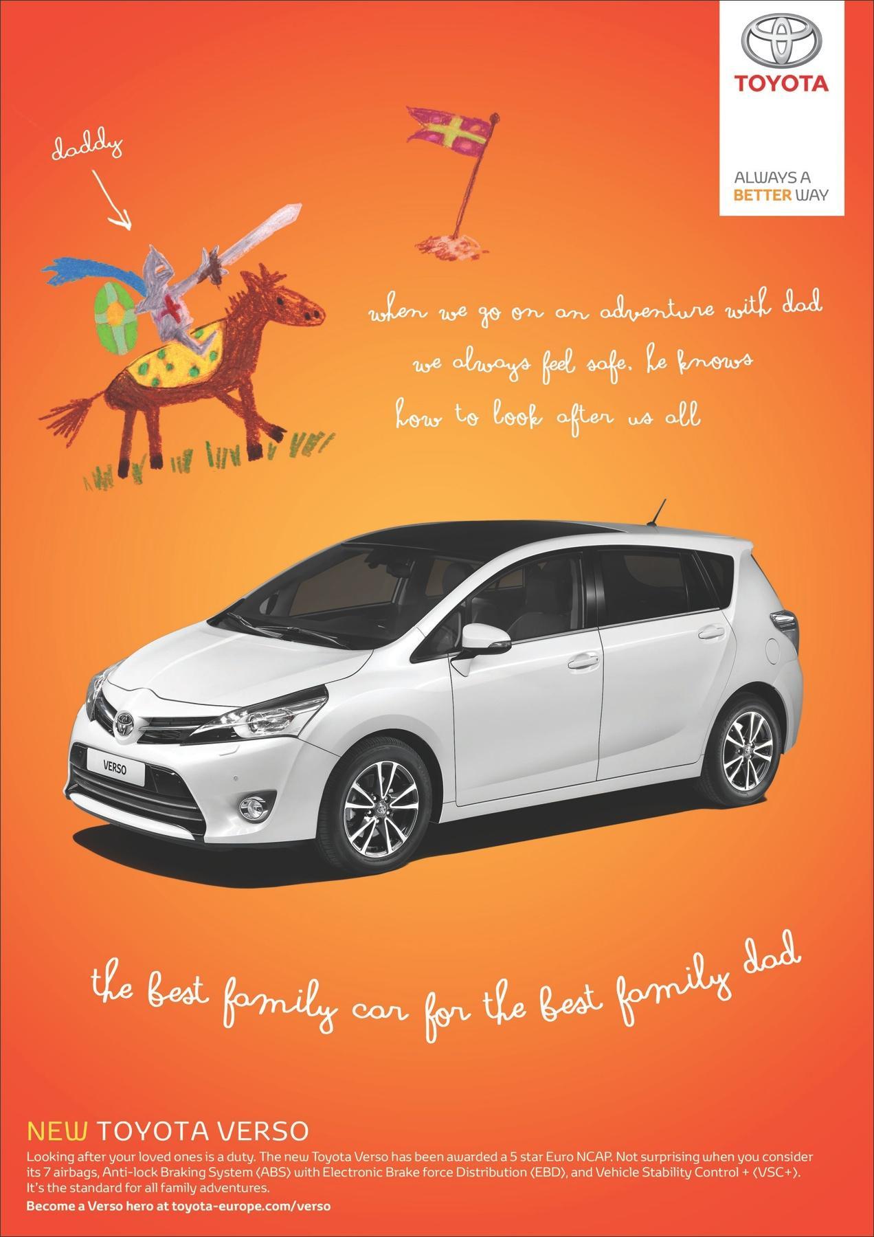 Toyota Print Ad -  Knight
