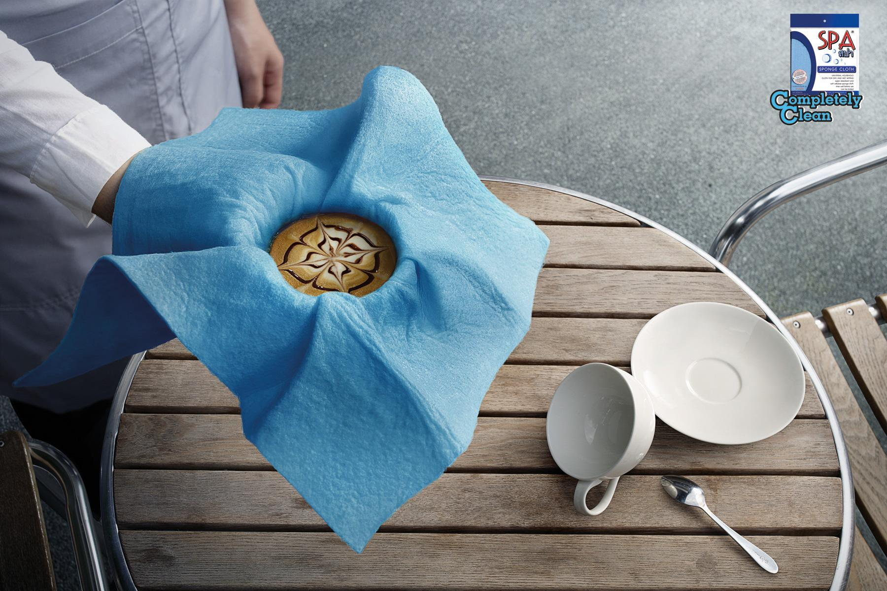 Spa Print Ad -  Coffee
