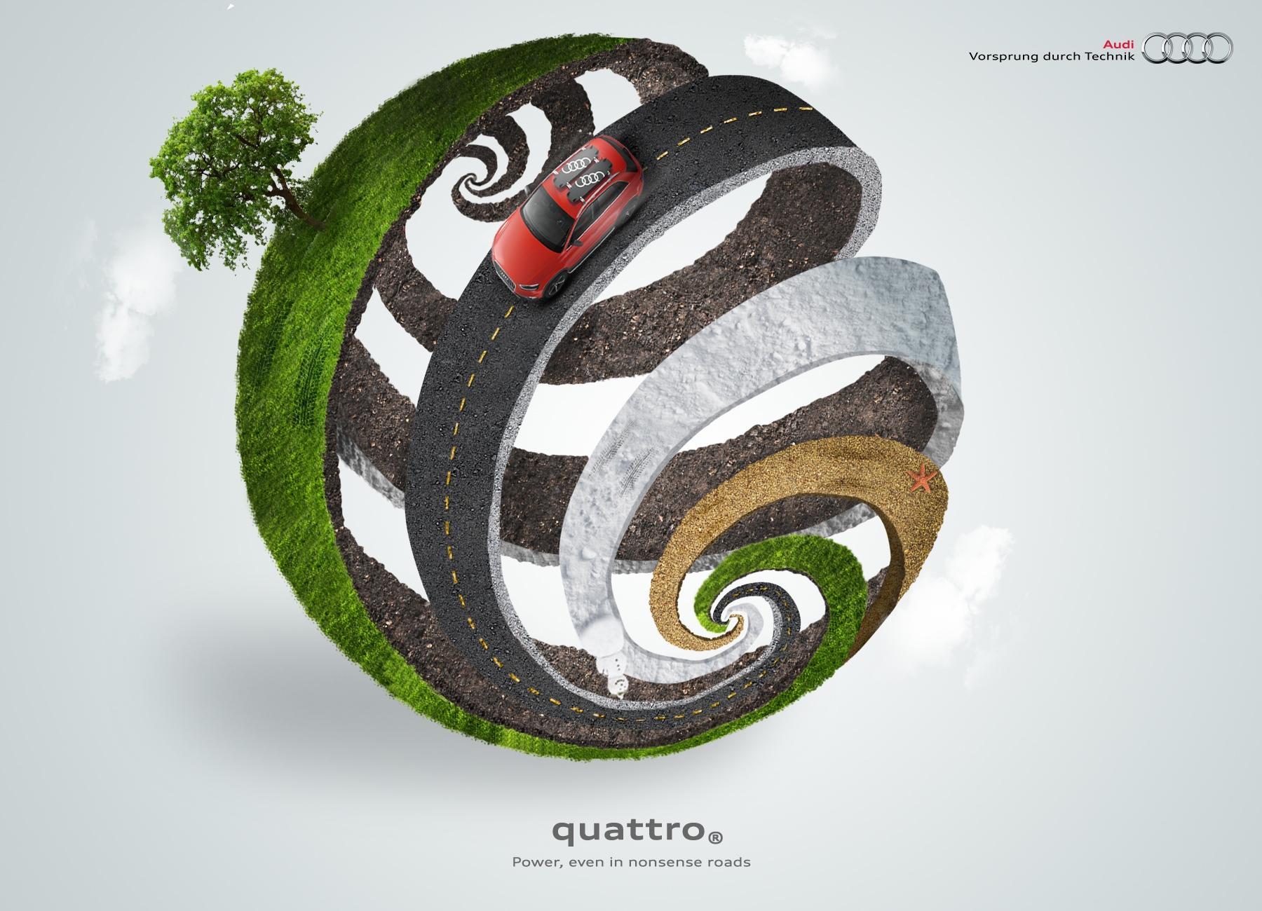 Audi Print Ad -  Sphere