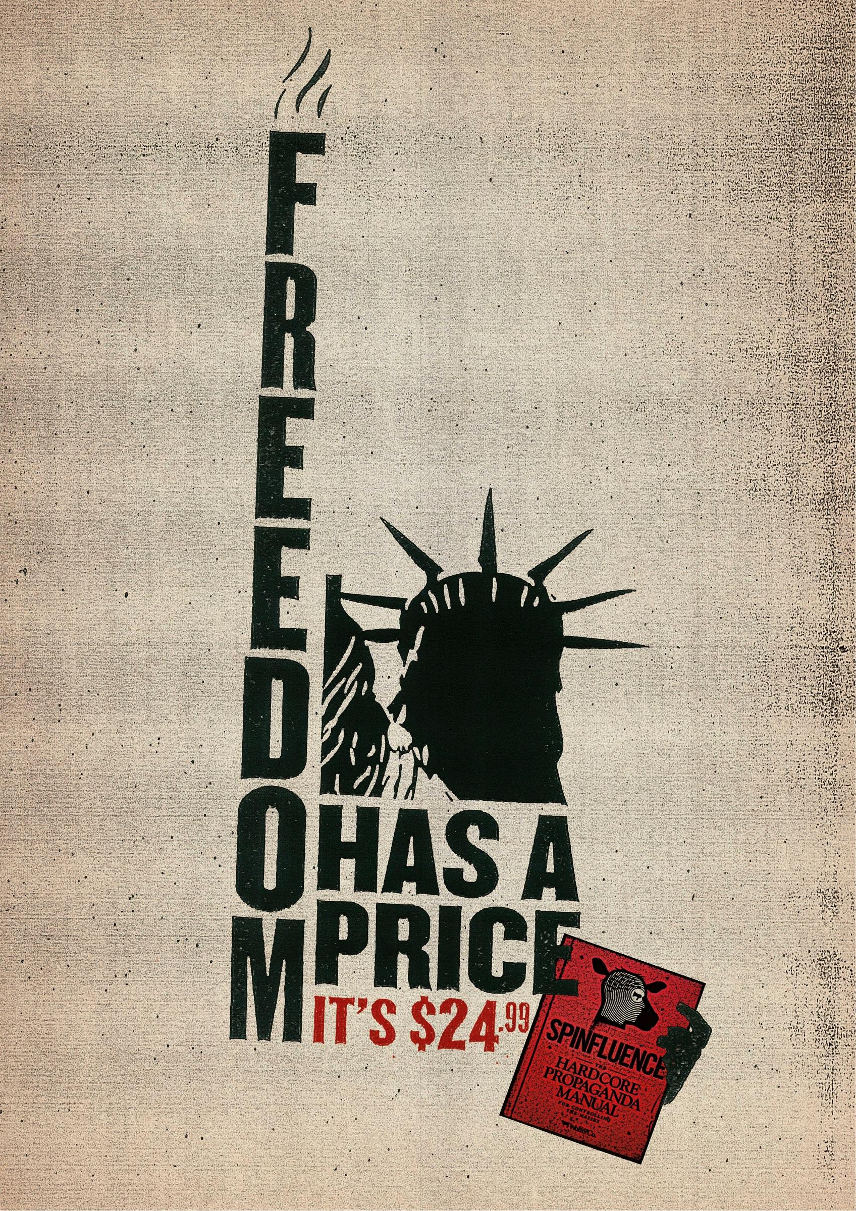 Spinfluence Print Ad -  Freedom