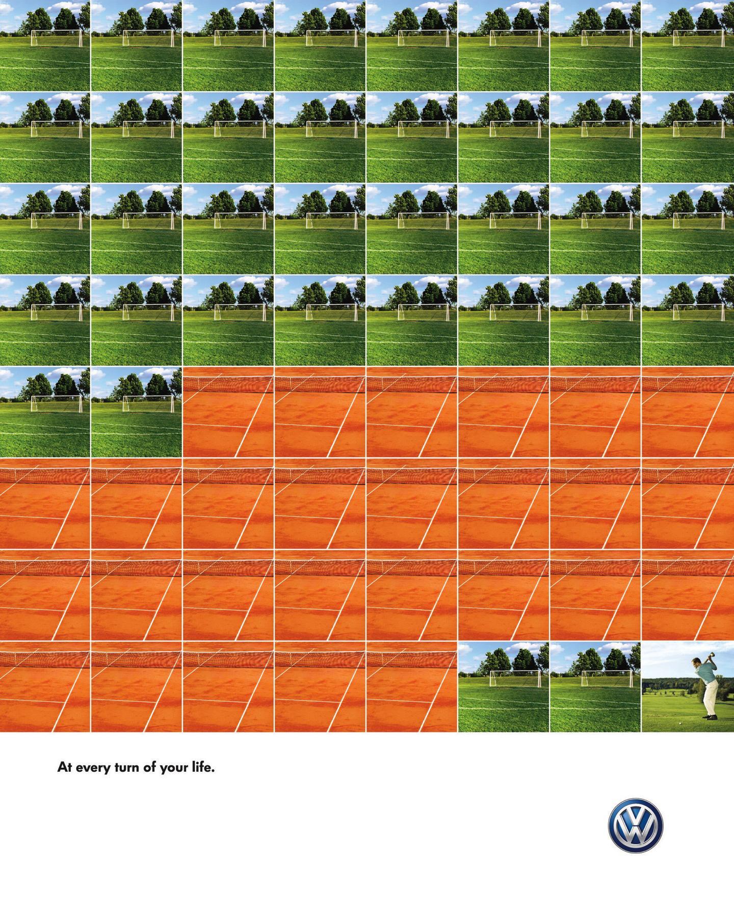 Volkswagen Print Ad -  Sports