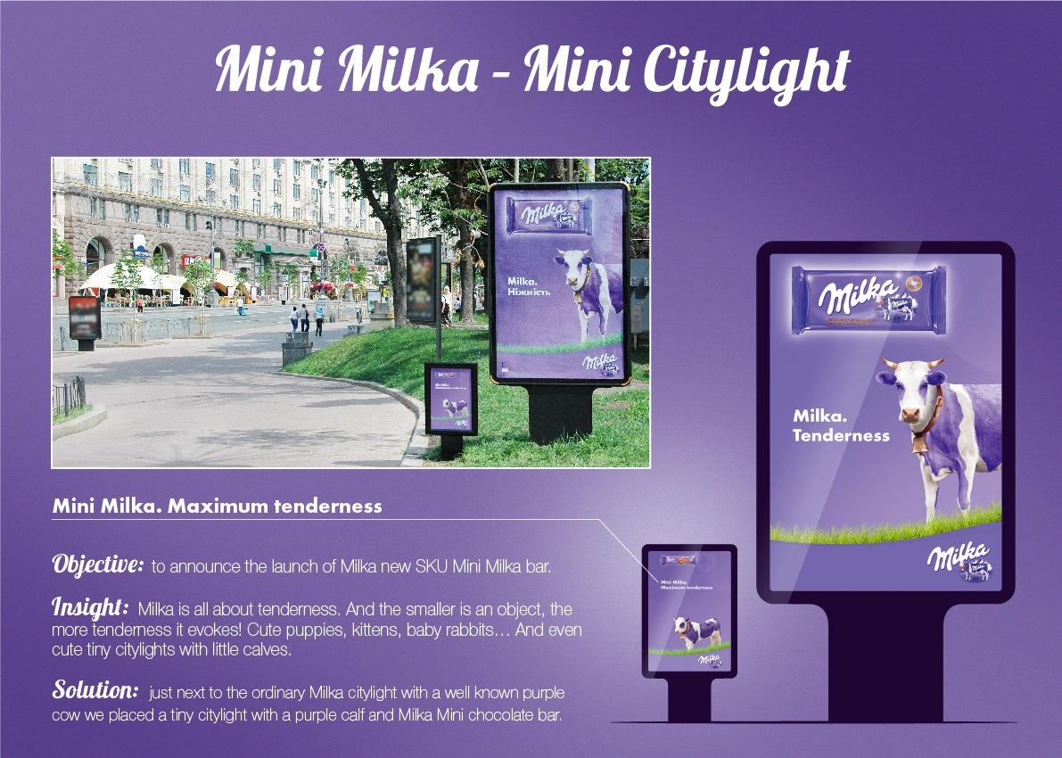 Milka Outdoor Ad -  Calf