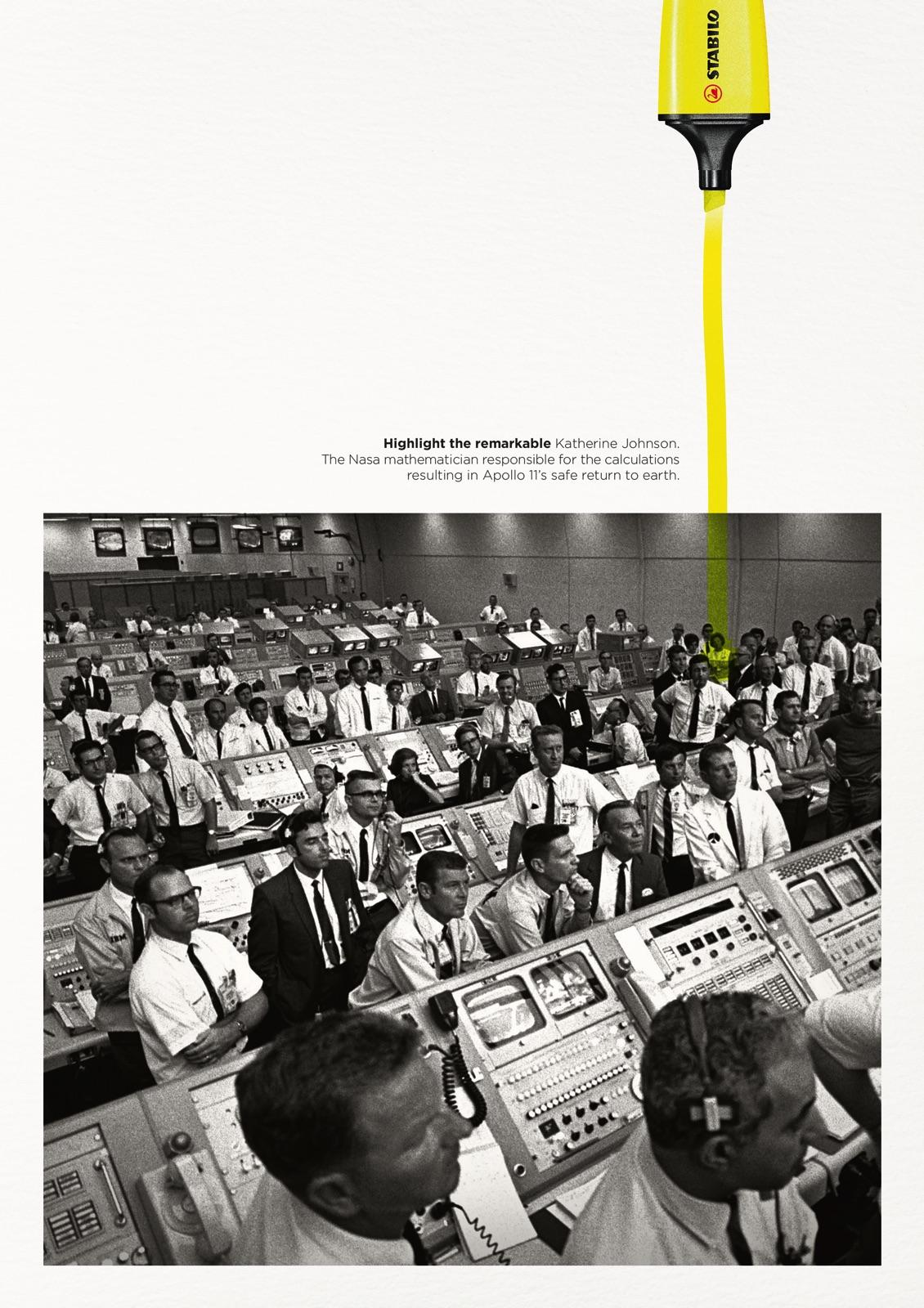Stabilo Boss Print Ad - Highlight the Remarkable - Katherine